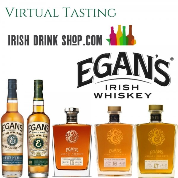 Egan's Irish Whiskey Tasting Pack 15th April Ireland Customers Including Delivery