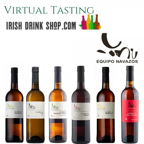 Equipo Navazos Sherry Tasting Pack Inc Delivery Ireland Only 23rd June
