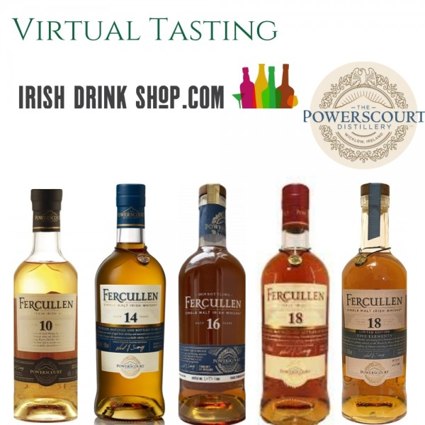Fercullen Irish Whiskey Tasting Pack Outside EU Based Customers Including Delivery