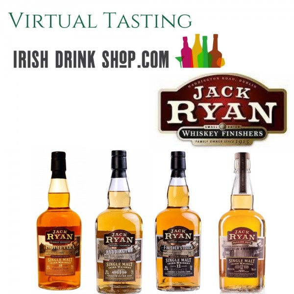 Jack Ryan Whiskey Tasting Pack 19th May EU Based Customers Including Delivery