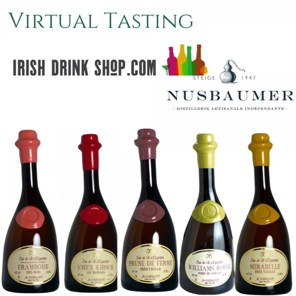 Eau de Vie Distillerie Nusbaumer Tasting Pack 26th May EU Based Customers Including Delivery