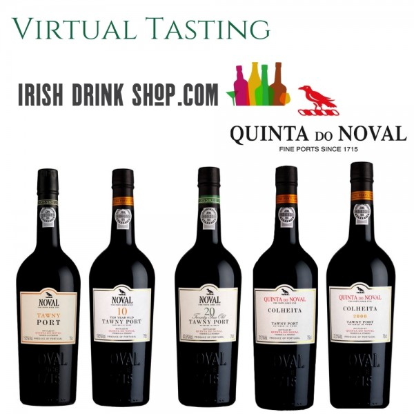 Quinta do Noval Tawny Port Tasting Pack 29th April Irish Customers Including Delivery