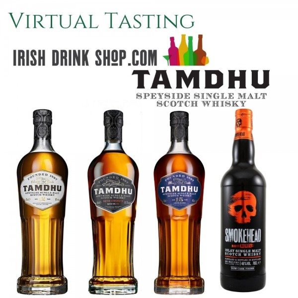 Tamdhu & Smokehead Tasting Pack 21st April EU Based Customers Including Delivery