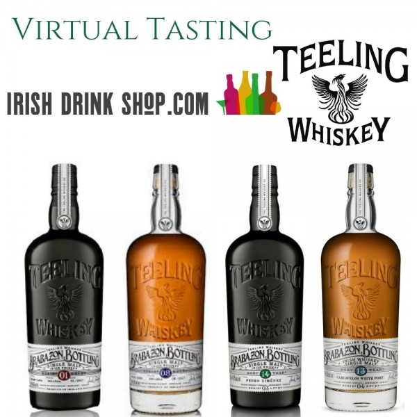 Teeling Brabazon Tasting Pack Including Delivery in EU 25th March