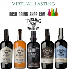 Teeling Unconventional Whiskey Tasting 22nd July Including Delivery EU Based Customers