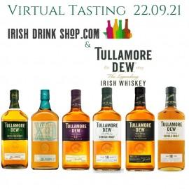 Tullamore DEW Range Tasting Pack Inc Delivery Ireland Only 22nd September