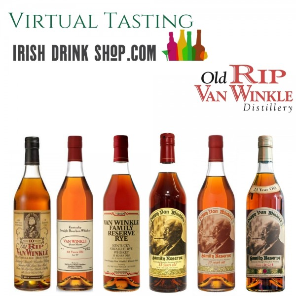 Pappy Van Winkle Bourbon Tasting Pack 2nd July Inc Delivery Ireland Only