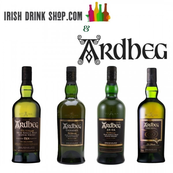 Ardbeg Tasting Pack Non EU/ United States Based Customers Including Delivery