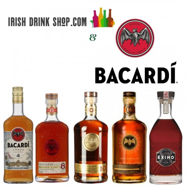 Bacardi Tasting Pack Inc Delivery In EU 4th Feb