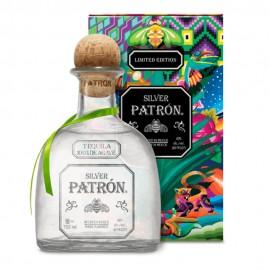 Patron Silver Mexican Tin 2021 1 Litre