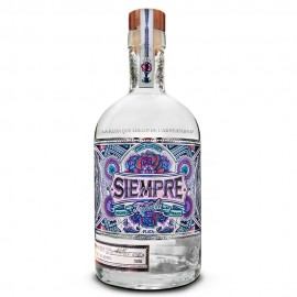 Siempre Plata Tequila with Free Baseball Hat