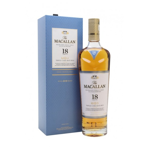 The Macallan 18 Year Old Triple Cask
