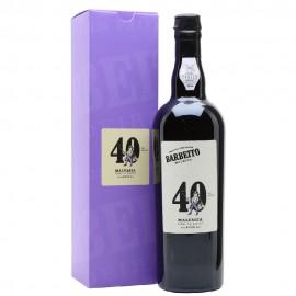 Barbeito Malvasia 40 Year Old Vinho do Reitor