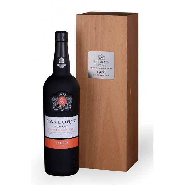 Taylors Single Harvest Port 1970