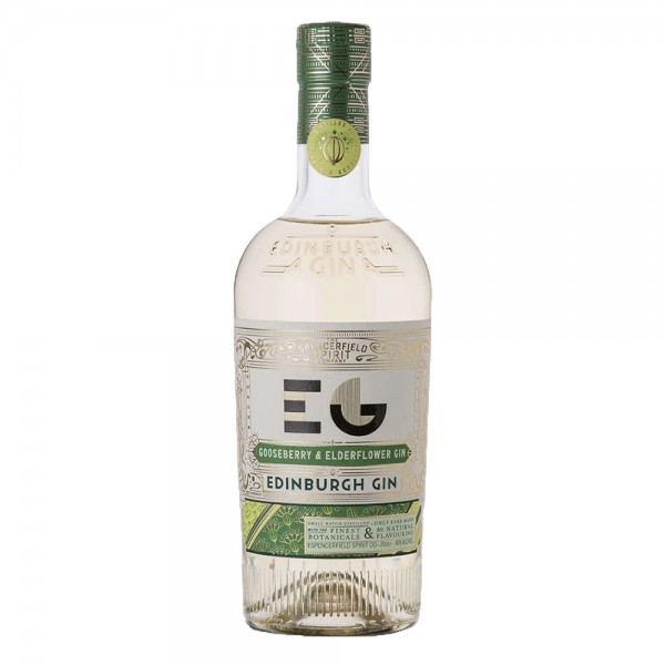 Edinburgh Gooseberry and Elderflower Gin