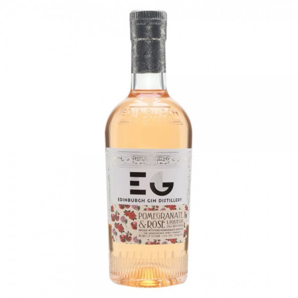 Edinburgh Pomegranate and Rose Gin Liqueur